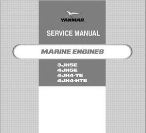 Yanmar 3JH5E, 4JH5E, 4JH-4TE, 4JH-HTE 4NTE106 workshop manual p1