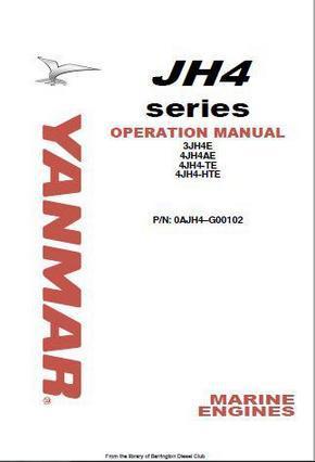 Yanmar 3JH5E, 4JH5E, 4JH-4TE, 4JH-HTE 4NTE106 operations manual p1